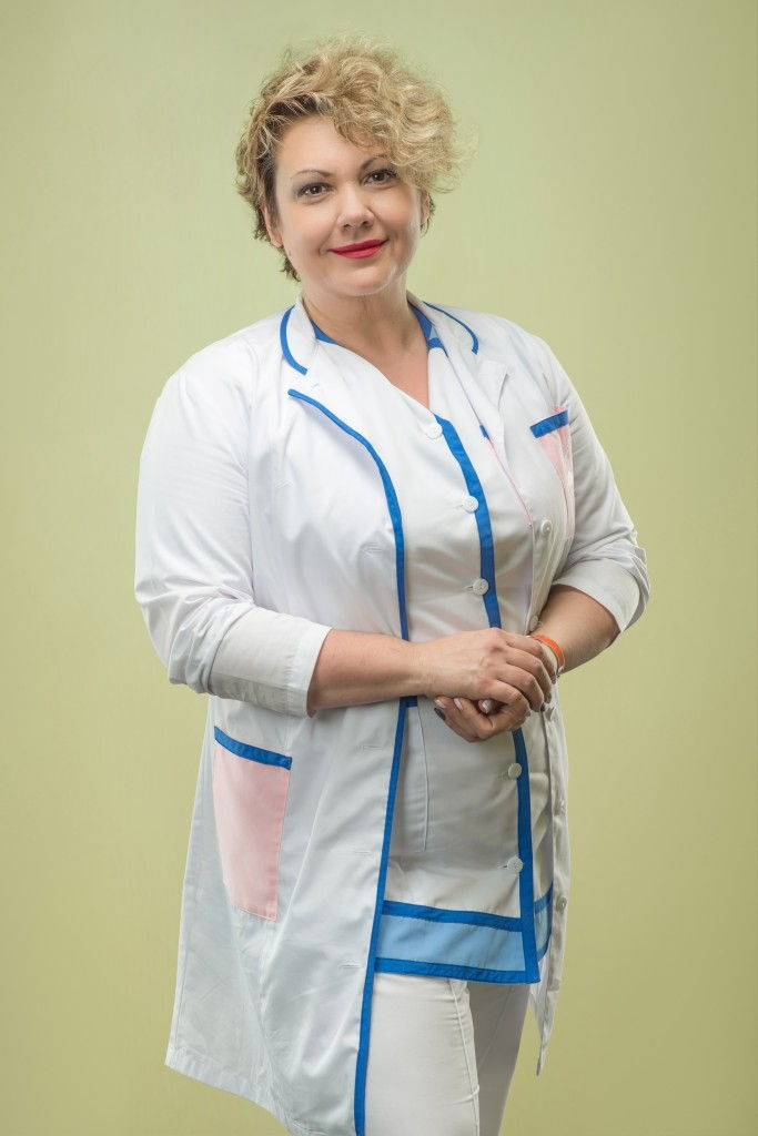 Head of the Pechersk Maternity Welfare Center Svitlana Lupich | Physicians | Main page